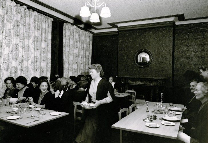 Photos of our first sixteen students in 1954