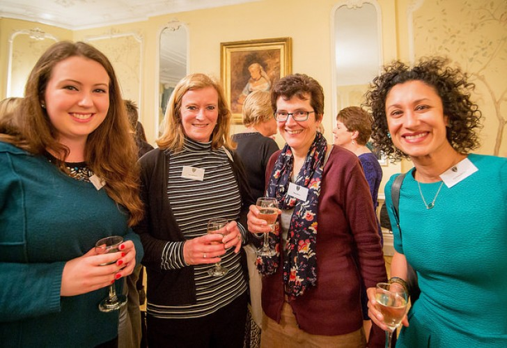 Photo of our alumnae at our London International Day 2016