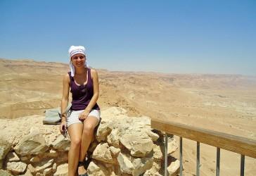 Photo of student Yanitsa Pehova in Israel