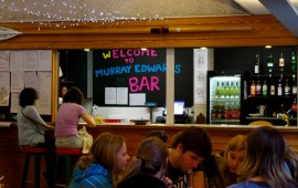 Photo of the College bar