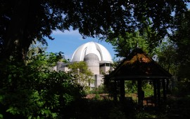 View of the Dome from the Fellows gardens