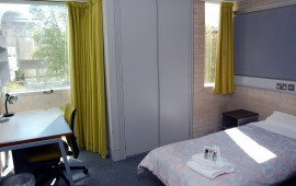 Photo of a student bedroom in Orchard Court