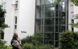 Photo a Pearl House, which contains student accommodation