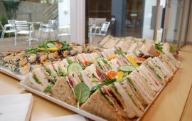 Photo of a selection of sandwiches