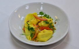 Photo of spinach and ricotta tortellini