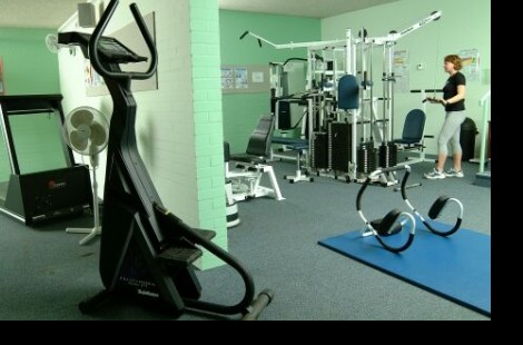 Gym at Murray Edwards College