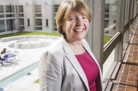 Dame Barbara Stocking, President of Murray Edwards College