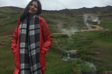 Claudia in Iceland